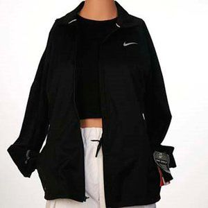 Nike Dry Shield Zip Front Black Jacket With Tags